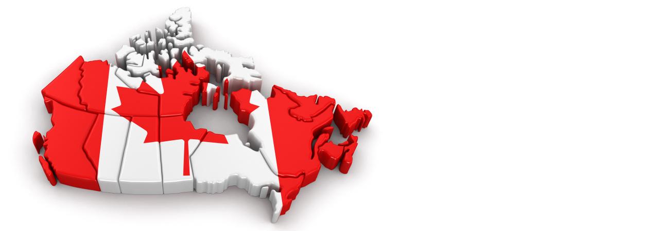 Canada VAT Map / Taux de TVA du Canada